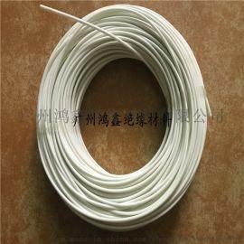 厂家直销2500v白色黑色玻璃纤维套管 规格齐全