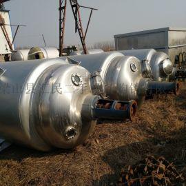 便宜**10台二手2000L不锈钢电加热反应釜