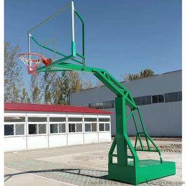 厂家直销低价供应 手动液压篮球架 户外健身运动