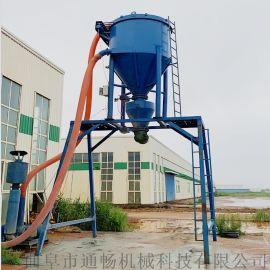 干灰粉料自吸式装罐车输送机码头卸料风压式抽送机