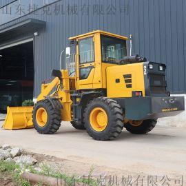 小型抓木机抓草机 轮式装载机 多功能小型铲车厂家