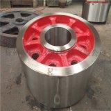 小型氧化鋅煅燒窯配件迴轉窯託輪