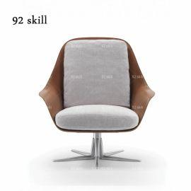 轻奢单人位沙发椅工厂直销