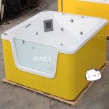 透明玻璃儿童游泳池,婴儿游泳设备,室内恒温游泳池