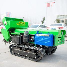 自走开沟施肥机 果树开沟施肥机 多功能开沟除草机