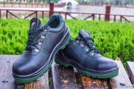防砸耐穿劳保鞋多功能工作鞋PU大底耐酸碱安全鞋厂家