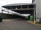 汉口雨棚厂家直销 活动推拉遮阳蓬 临时仓库帐篷