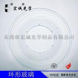 厂家订做光学影像CCD筛选玻璃盘 光学玻璃盘
