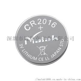 厂家直销CR2016纽扣电池 3V