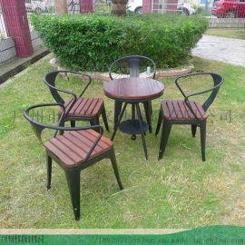 现  公小圆桌--咖啡店洽谈休闲桌椅组合