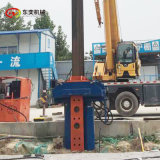 工字钢工法桩液压拔桩机 拔型钢的设备