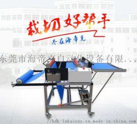新款无纺布裁切机 全自动背胶植绒布裁布机 针织布切片机 无纺布 布料横切机