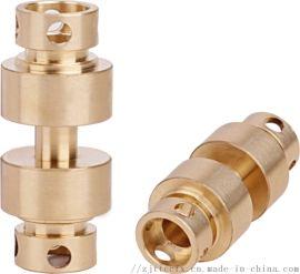 厂家供应全铜角阀陶瓷阀芯 冷热水龙头加厚快开阀芯