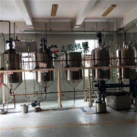 瓶装山茶油生产设备 食用油精炼设备 茶籽油脱酸