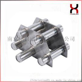 强力注塑机磁力架 5管7管9管料斗过滤磁力架