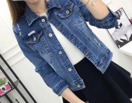 牛仔外套女2020修身新款春秋短款學生韓版上衣女潮流網紅休閒外套