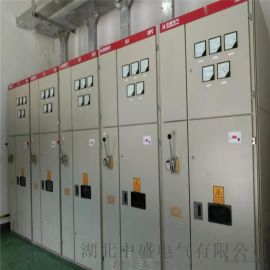 电动机无功补偿装置安装电动机机旁的电容补偿柜