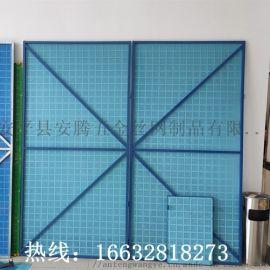工地建筑外墙防护网 圆孔高层安全防护网 金属板网