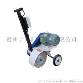 厂家供应宁力小推车式千叶轮打磨除锈机抛光机