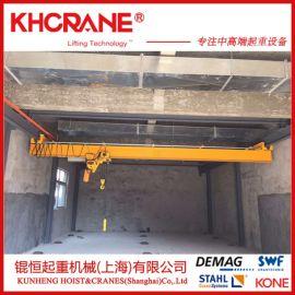锟恒供应欧式行车行吊 单梁桥式悬挂起重机 行车端梁