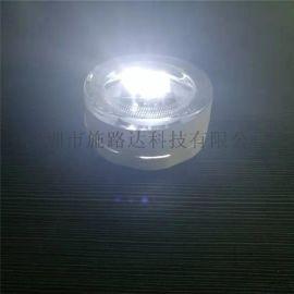 埋入式太陽能LED玻璃道釘單側發光