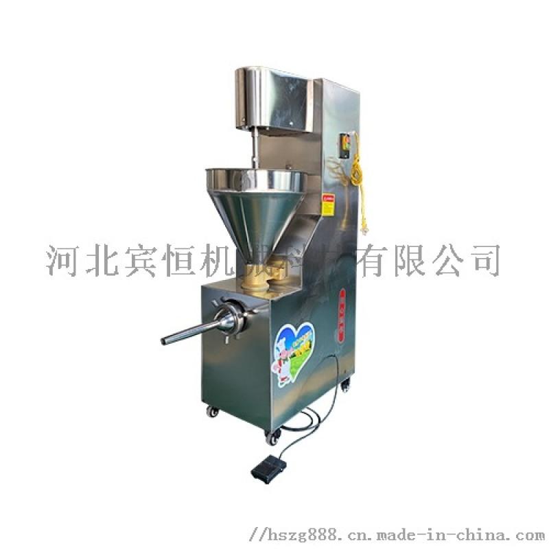 液壓灌腸機,全自動灌腸機,烤腸灌腸機