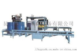 灌装自动化GZB-200L液体全自动灌装机