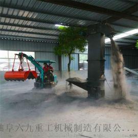 小型推土机 专用防滑输送机 六九重工 蔬菜大棚挖