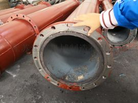 上海耐磨管道双金属复合管材江苏双金属复合管江河机械