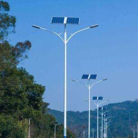 厂家直销100w6米农村LED单双臂路灯