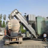 泰州碼頭水泥中轉設備海運集裝箱卸灰機散灰自動裝車機