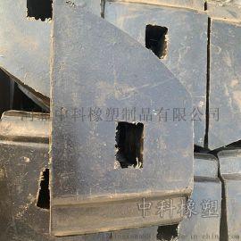 衡水供应橡胶矿车碰头 矿车橡胶块 碰头定制