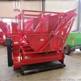 秸秆收割粉碎一体机 带料仓秸秆回收粉碎机
