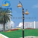 戶外造型景觀燈鋁製歐式雙頭3米庭院燈定製公園路燈