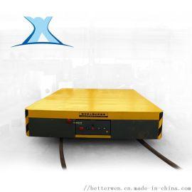 BXC蓄电池遥控电动平板车 车间卷材搬运设备