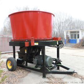 圆筒式草捆粉碎机,草捆粉碎机厂家,稻草饲料粉碎机