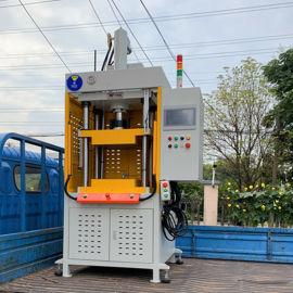 四柱数控液压机,四柱三板结构的数控油压机