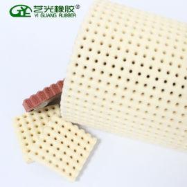 针孔发泡板耐高温发泡板整烫用发泡硅胶板材厂家