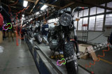 河南电动车生产线,三轮车装配线,中巴车总装流水线