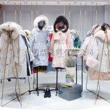 歐美女裝品牌西樹影黛19款帶毛領羽絨服一手資源