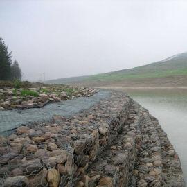 富海源头厂家直销镀锌钢丝雷诺护垫 护岸石笼挡墙