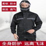 北京專業雨衣公司-頂峯雨衣雨褲套裝電動車摩托車雨衣