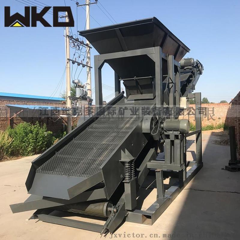 湖南振动筛沙机 沙场用振动筛 单双层振动筛设备