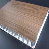 木纹蜂窝铝单板 会议室隔音蜂窝芯铝板
