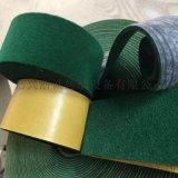 綠絨布包膠帶 包輥帶
