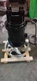 不锈钢叶片潜水搅拌机, 污水池搅拌机