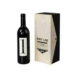 定制酒盒包装中密度纤维板木质包装盒
