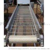 304不鏽鋼支軸鏈網帶輸送機