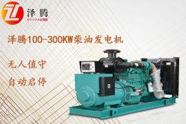 250kw柴油发电机泽腾品牌 详细技术参数介绍