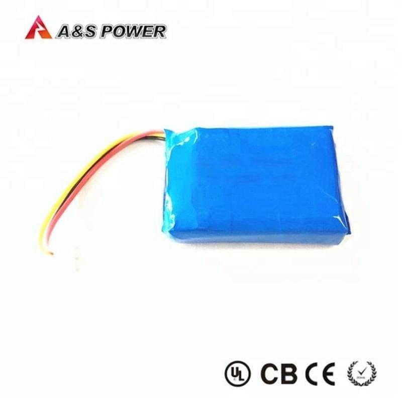 蓝牙耳机锂电池603040-750mah聚合物电池